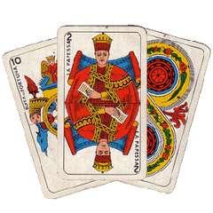 immagine che ritrae la carta del papa dei tarocchi