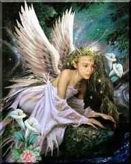 immagine che ritrae una fata con le ali