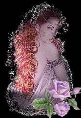 immagine che ritrae una donna dai capelli rossi che mostra le spalle